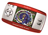 LEXiBOOK Compact Cyber Arcade Portable Gaming Console, 250 Games, LCD, Red, JL2375RD