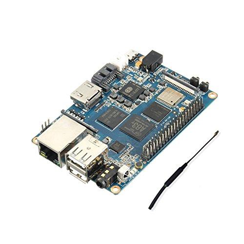 SmartFly Info Banana Pi BPI M3 A83T Octa-Core (8-Core) 2G LPDDR3+8GBEMMC Open-Source-Entwicklungsplatine Single Board Co Raspberry Pi kompatibel 2GB LPDDR3 Base