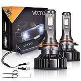9005 LED, WZTO 12000LM Lampadine 9005 LED 70W Lampada Sostituzione per Alogena Lampade e Xenon Luci, 6000K 12V-24V Impermeabilità IP67-2 Anni Di Garanzia