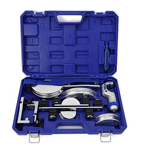 TFCFL CT-999RF Multi Copper Pipe Bender Manual Aluminum Tube Bending Tool Practical Kit 3/8''1/2''5/8''3/4''7/8''