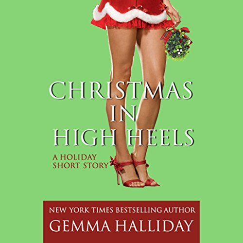 Christmas in High Heels audiobook cover art