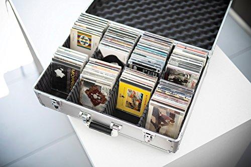 Aluminium CD Flight Case   120 CDs