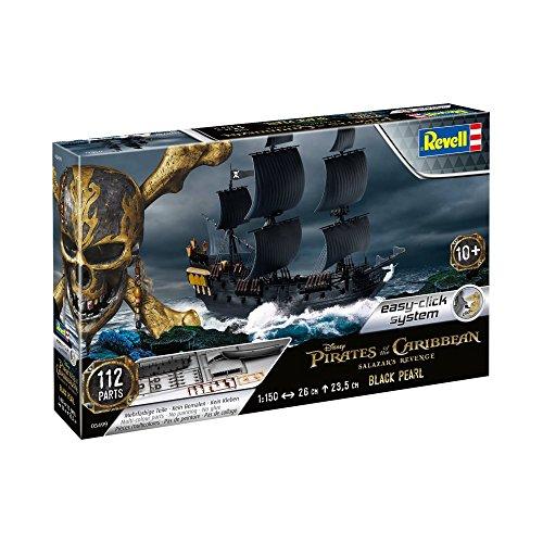 Revell- Black Pearl Maqueta Piratas de los Caribeños La Vengeance de Salazar, 10+ Años, Multicolor, 26,0 cm de Largo (05499)