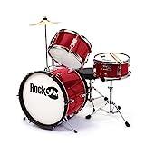 Rockjam 3-piece Junior Drum Set