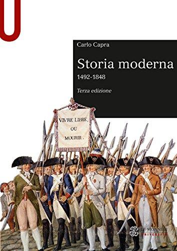 STORIA MODERNA - Edizione digitale: (1492-1848)