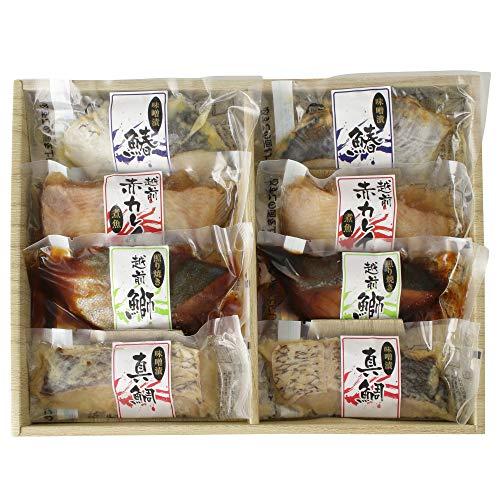 丸市食品 煮魚・焼き魚セット 手軽 [ 冷凍食品 ] おかず 食べ比べセット 福井県産 贈り物