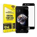actecom Protector Pantalla Completo 3D 5D Negro Cristal Templado para XIAOMI MI Note 3