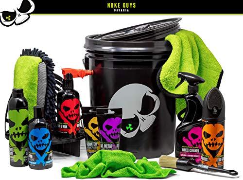 Nuke Guys Voodoo Ride Kit de Nettoyage pour Jantes de Voiture – Nettoyage Rapide des pneus – Polissage Rapide – Métal – élimination des Rayures – Chiffon de Nettoyage – Chiffon Microfibre