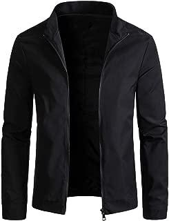 Mens Slim Fit Lightweight Windbreaker Casual Jacket Waterproof Outdoor Sportswear