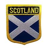 Scotland Flag Emblem...image