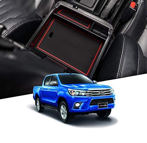 Roki-X Accesorios de Organizador de automóviles de Almacenamiento de la Caja del apoyador Adecuado para Toyota HILUX SR5 HILUX REVO AN120 AN130 120 130 2015~2019 Fortuner (Size : 15HILUX Box)