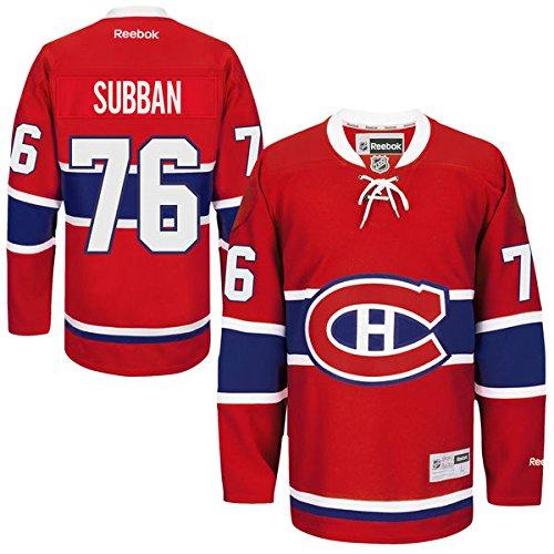 Reebok NHL Eishockey Trikot Montreal Canadiens P.K. Subban #76 Jersey Premier (XL)