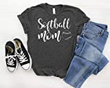 Softball Mom Shirt | Baller Womans T Shirt | Available in Misses Unisex and Plus size T-Shirt, Assorted Colors