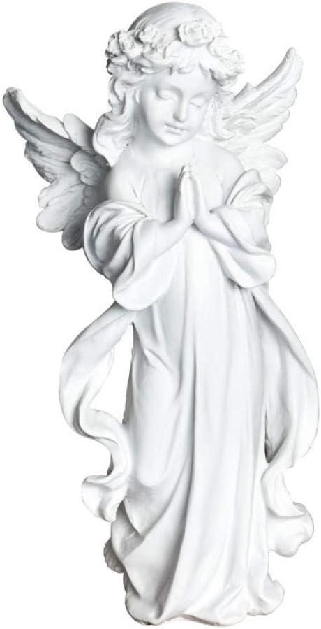 Sculptures Sacramento Mall Statues Ornament Figurines Girl Sculptur 100% quality warranty! Little Angel