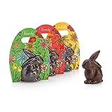 Regalo Pasqua - Coniglietto di Cioccolato Fondente 100g - Senza Glutine