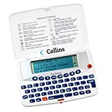 Lexibook- Dictionnaire Collins, entièrement en Anglais, 90 000 Mots Racines, définitions, synonymes, correcteur d'orthographe, Blanc, DL601GB