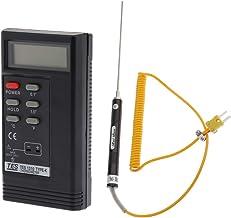 B Baosity Termómetro LCD Digital De Mano Y Kit De Sensor De Termopar Tipo K De 2000 Mm