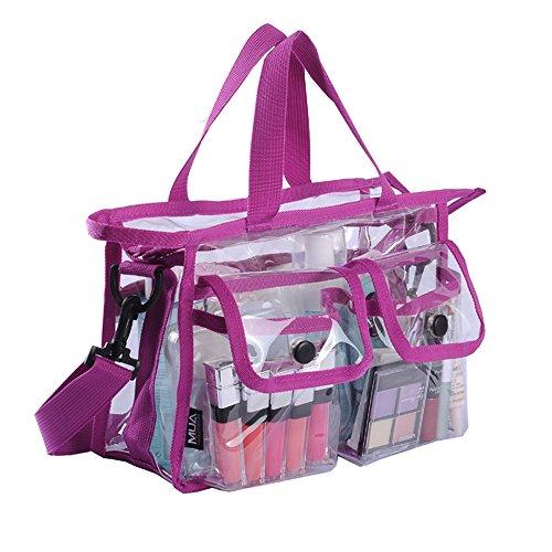 MUA LIMITED Make-up Artist Borsa porta trucchi, tasche laterali e tracolla, maniglia ergonomica, ON THE GO Series
