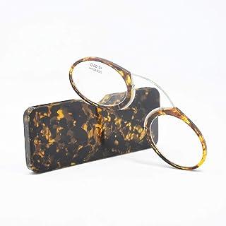 c0e64f6ba2 Pince Nez Monturas Clip Nariz Gafas de lectura Grado + 1.00D A + 3.50D Sin