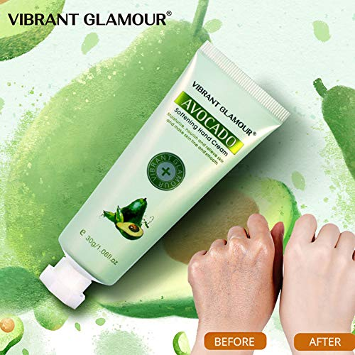 RONSHIN Healthy for Plant Moisturizing Hydrating Hand Cream Avocado for Winter Hand Care Nourishing Skin