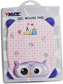 Vmax Gel Mouse Pad Made From Nylon Textile VMP-103, Purple
