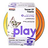 Petstages Tower of Tracks Cat Toy  3 Levels of Interactive Play  Circle Track with Moving Balls Satisfies Kittys Hunting, Chasing & Exercising Needs