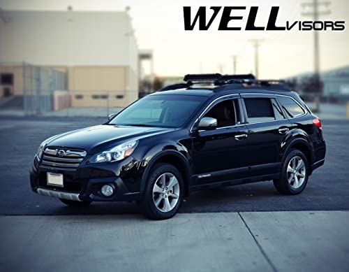 WellVisors Replacement for 2010-2014 Subaru Indianapolis Mall Alternative dealer Rain Outback Gu Side