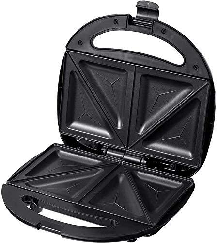 XiaoDong1. Multifunktionale elektrische Eier Sandwichmaker, Mini-Brotgrill Waffel Crêpe Toaster Pfannkuchen Backen Frühstücksmaschine 750W 220V
