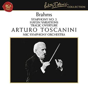 Brahms: Symphony No. 2 in D Major, Op. 73, Haydn Variations, Op. 56a & Tragic Overture, Op. 81