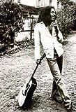 Posters du Monde Póster de Bob Marley Reggae de guitarra inclinada (91,5 x 61 cm)