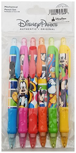 Disney Parks - Mickey Mouse and Gang - Mechanical Pencil Set of 6