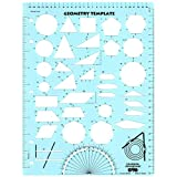 Learning Advantage CTU7826BN Geometry Template, Pack of 6