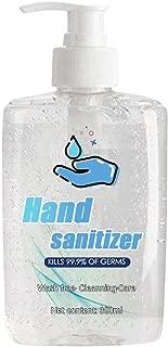 Refreshing Hand Sanitizer Gel, Washless Hand Soap Gel, 300ML Super-Large Capacity, Long-Lasting Speed Dry Hand Lotion