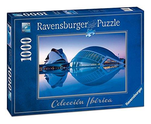 Ravensburger - Valencia, Ciudad de Arte y Ciencia, Rompecabezas de 1000 Piezas, 70 x 50 cm (196173)