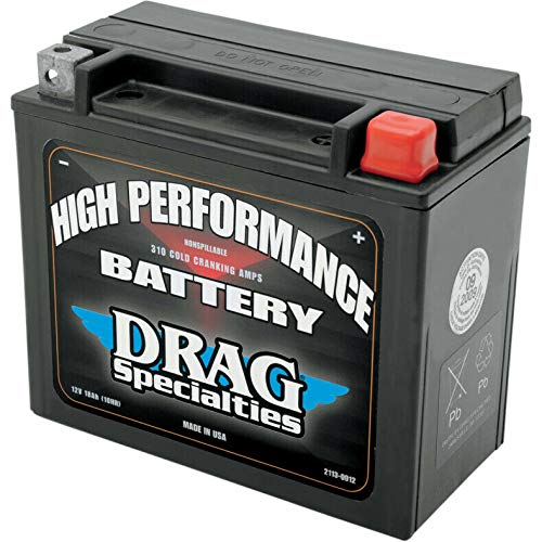 Tuning_Store High Performance AGM Battery for Harley Softail V-Rod Dyna Sportster The Best Accessories for Tuning and Upgrading Your Iron Horse
