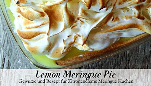 Lemon Meringue Pie – 8 Gewürze für Zitronencreme Meringue Kuchen (53g) – in einem schönen Holzkästchen – mit Rezept und Einkaufsliste – Geschenkidee für Feinschmecker – von Feuer & Glas