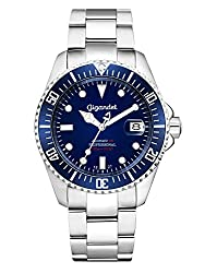 Gigandet Automatic Watch Men Analog with Stainless Steel Strap Sea Ground G2-009