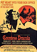 A Transfusion in the Right Vein Countess Dracula ティンサイン ポスター ン サイン プレート ブリキ看板 ホーム バーために