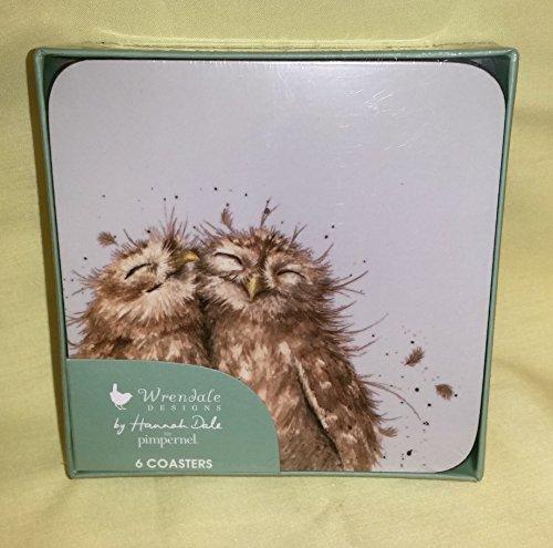 Wrendale Owl Untersetzer 6 Stück (s)