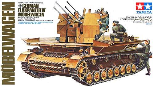TAMIYA 300035101 - 1:35 WWII Deutsche Flak-Panzer IV Möbelwagen (4)