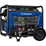 Westinghouse WGen5300DF Dual Fuel Portable Generator with 120/240 Volt Selector 5300 Rated 6600 Peak Watts Gas or Propane Powered, CARB Compliant, RV and Transfer Switch Ready