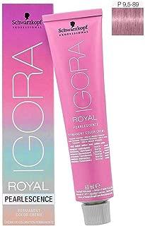 Schwarzkopf Professional Igora Royal Pearlesence Hair Color, 9.5-89, Pastel Candy, 60 Gram