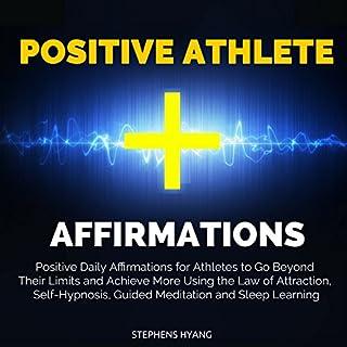 Positive Athlete Affirmation audiobook cover art