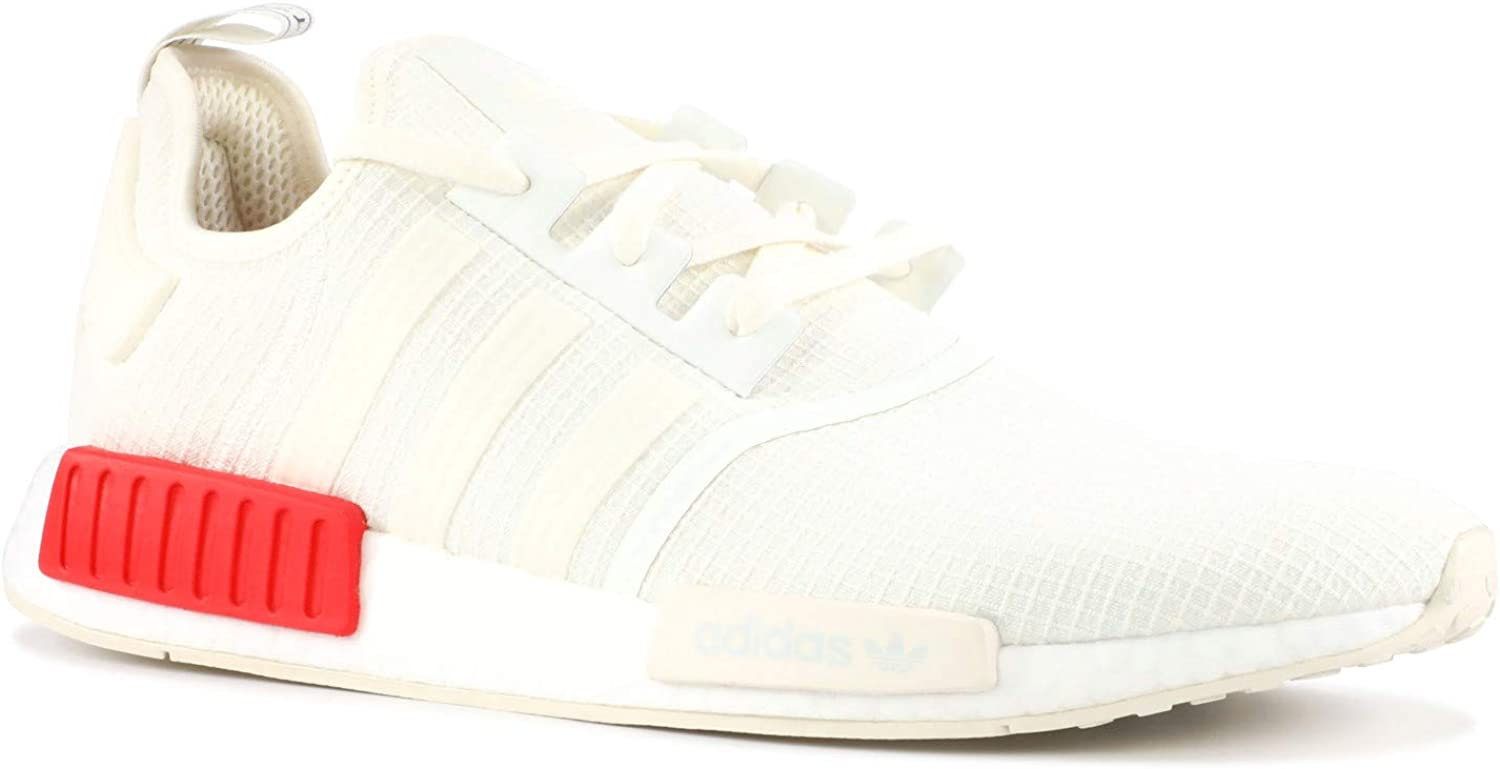 Adidas Originals NMD_R1 shoes - Men's Casual 11 Off White Lush Red