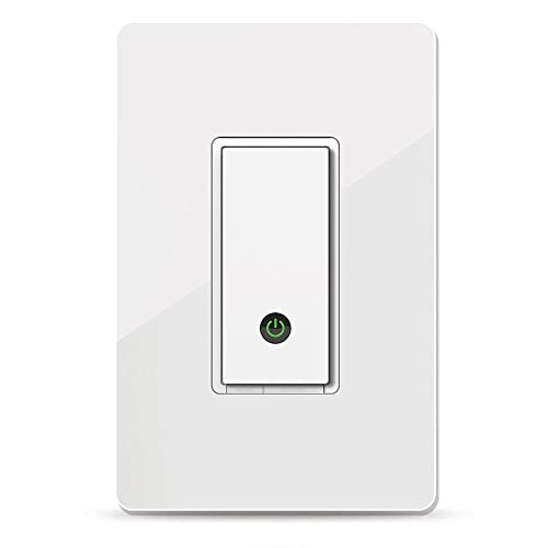 Wemo Light Switch, WiFi enabled, Works with Alexa and the Google Assistant (F7C030fc