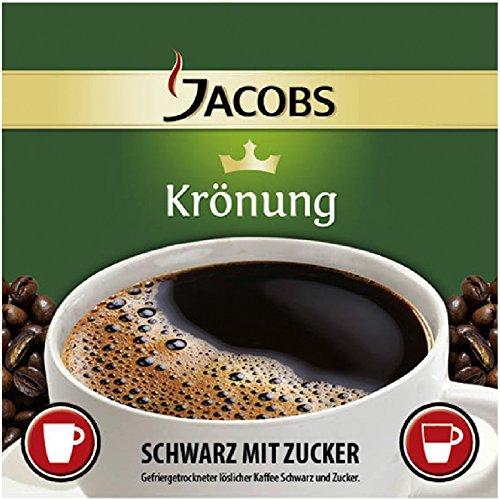 Jacobs Krönung Kaffee - Schwarz - Zucker 250 InCup Becher a 7,7g