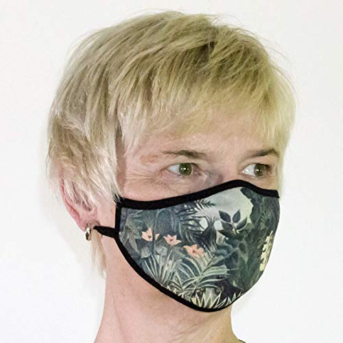 Design Mund-Nasen-Schutz - stylisch im Kunst-Look: inspiriert von Henri Rousseau