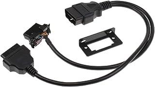 Homyl Cabo conector, ferramenta de diagnóstico de carro de 16 pinos para Mazda Kia