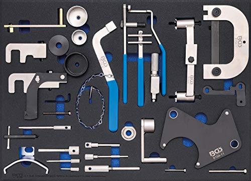 BGS 4134 | Insert de servante d'atelier 3/3: Coffret de calage | pour Renault, Nissan, Opel, Volvo