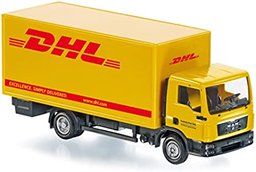 Wiking 077427 - Koffer-Lkw (MAN TGL) Control87 -  DHL  - 1 87